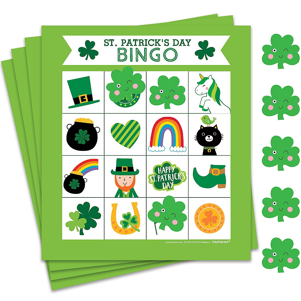 Nav Item for St. Patrick's Day Bingo 16ct Image #1