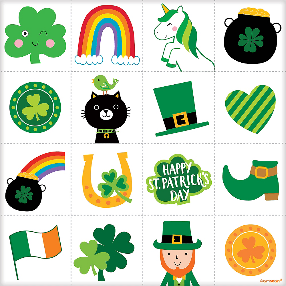 Nav Item for St. Patrick's Day Bingo 16ct Image #2