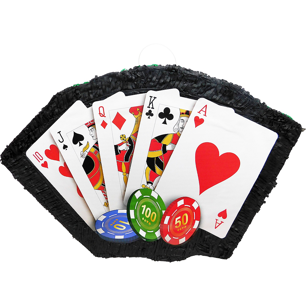 Nav Item for Poker Hand Pinata Image #1