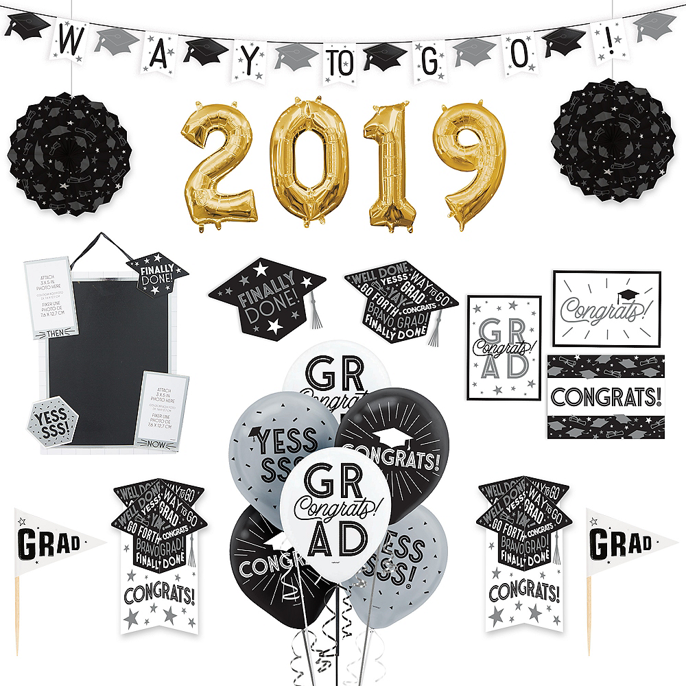Grid Graduation Decorating Kit Image #1