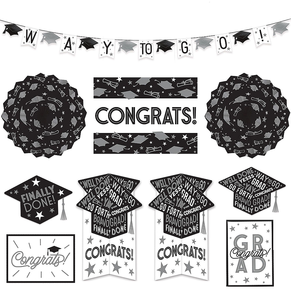 Grid Graduation Decorating Kit Image #5