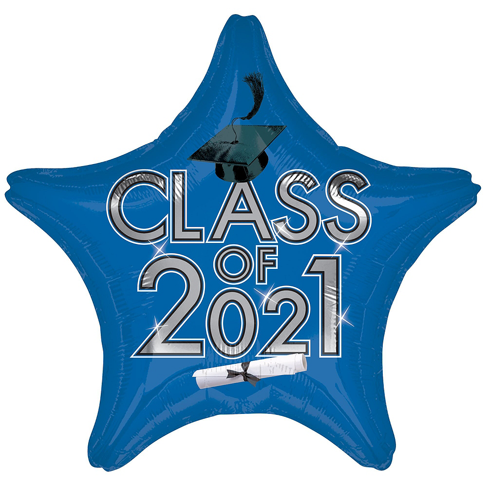 Nav Item for Blue Class of 2019 Graduation Balloon Kit Image #5