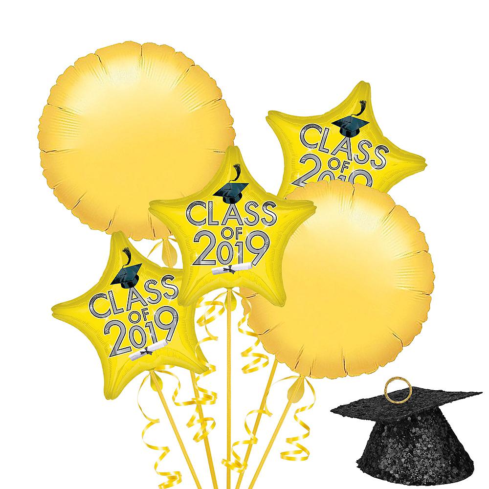 Yellow Class of 2019 Graduation Balloon Kit Image #1