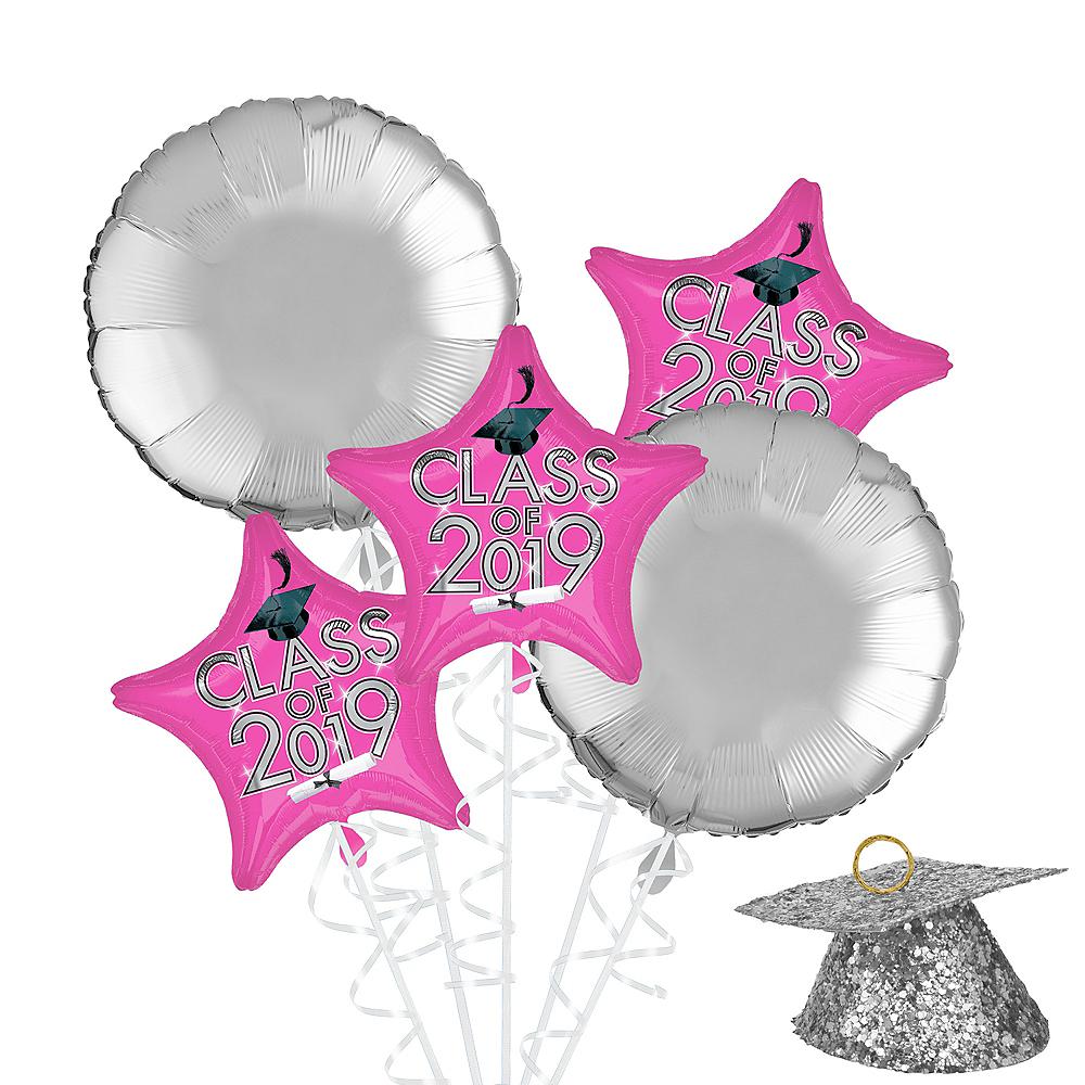 Pink Class of 2019 Graduation Balloon Kit Image #1