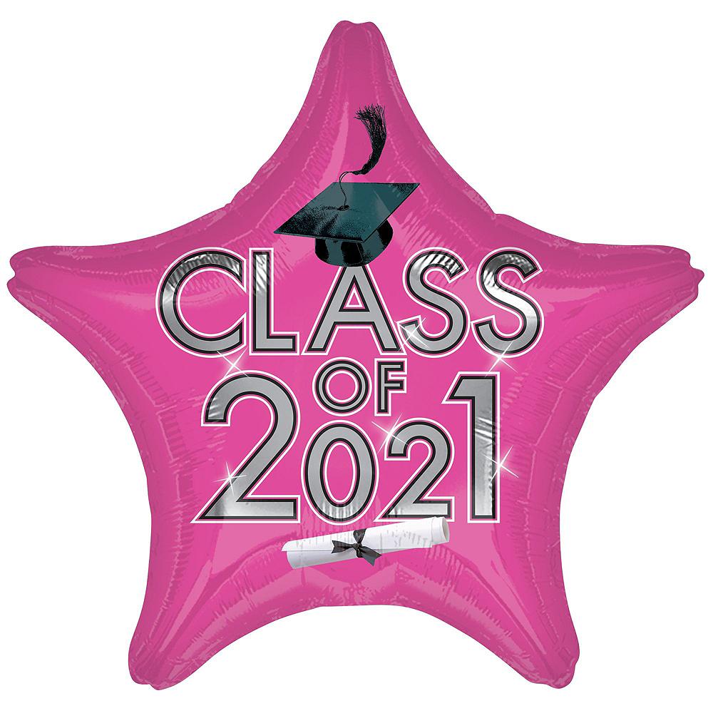 Pink Class of 2019 Graduation Balloon Kit Image #5
