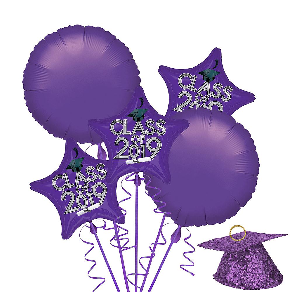Purple Class of 2019 Graduation Balloon Kit Image #1