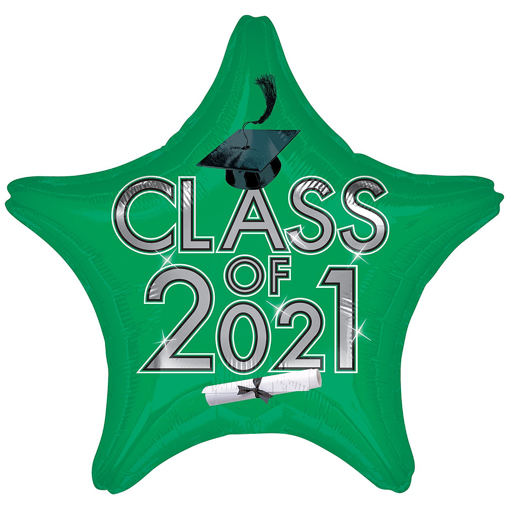 Nav Item for Green Class of 2019 Graduation Balloon Kit Image #4