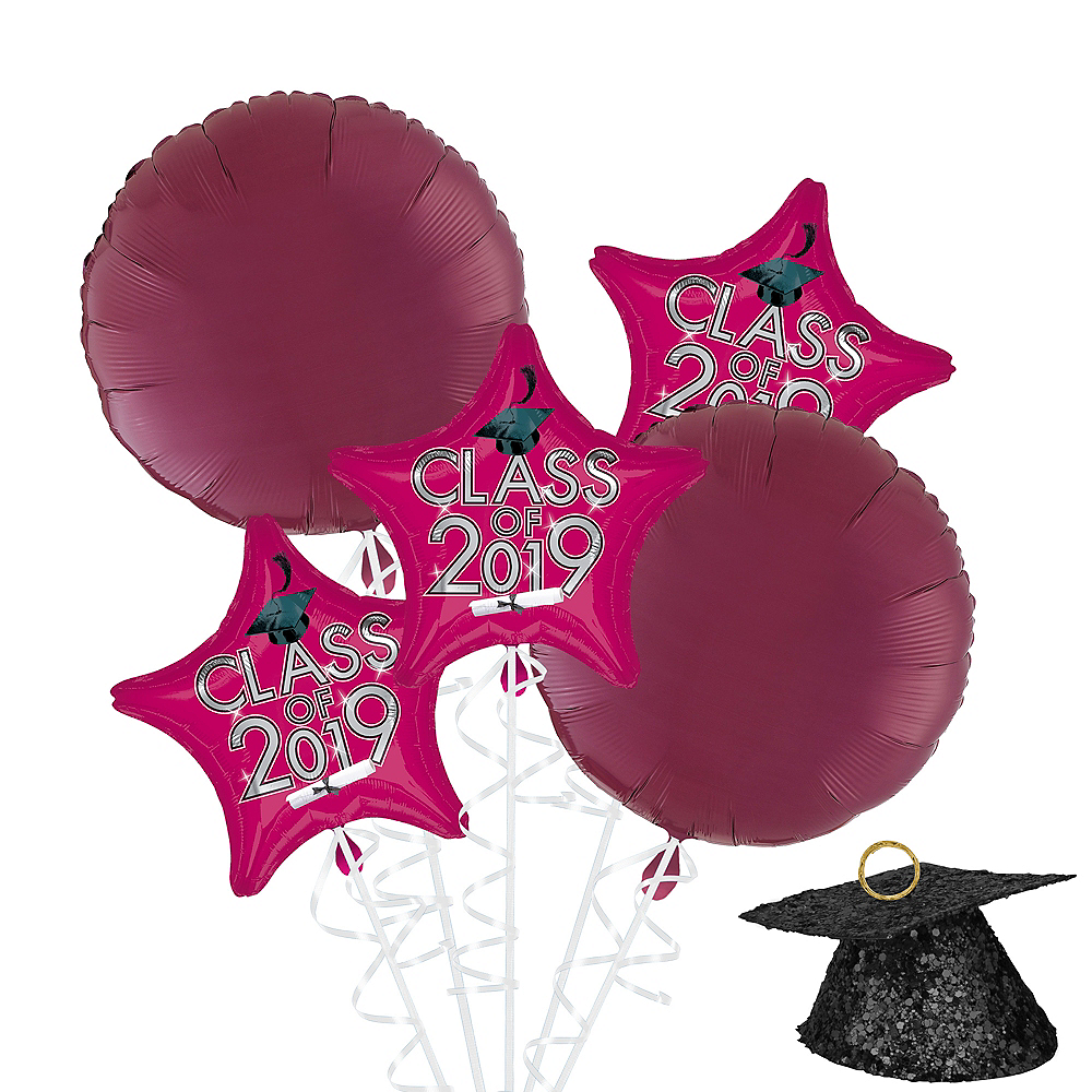 Berry Class of 2019 Graduation Balloon Kit Image #1