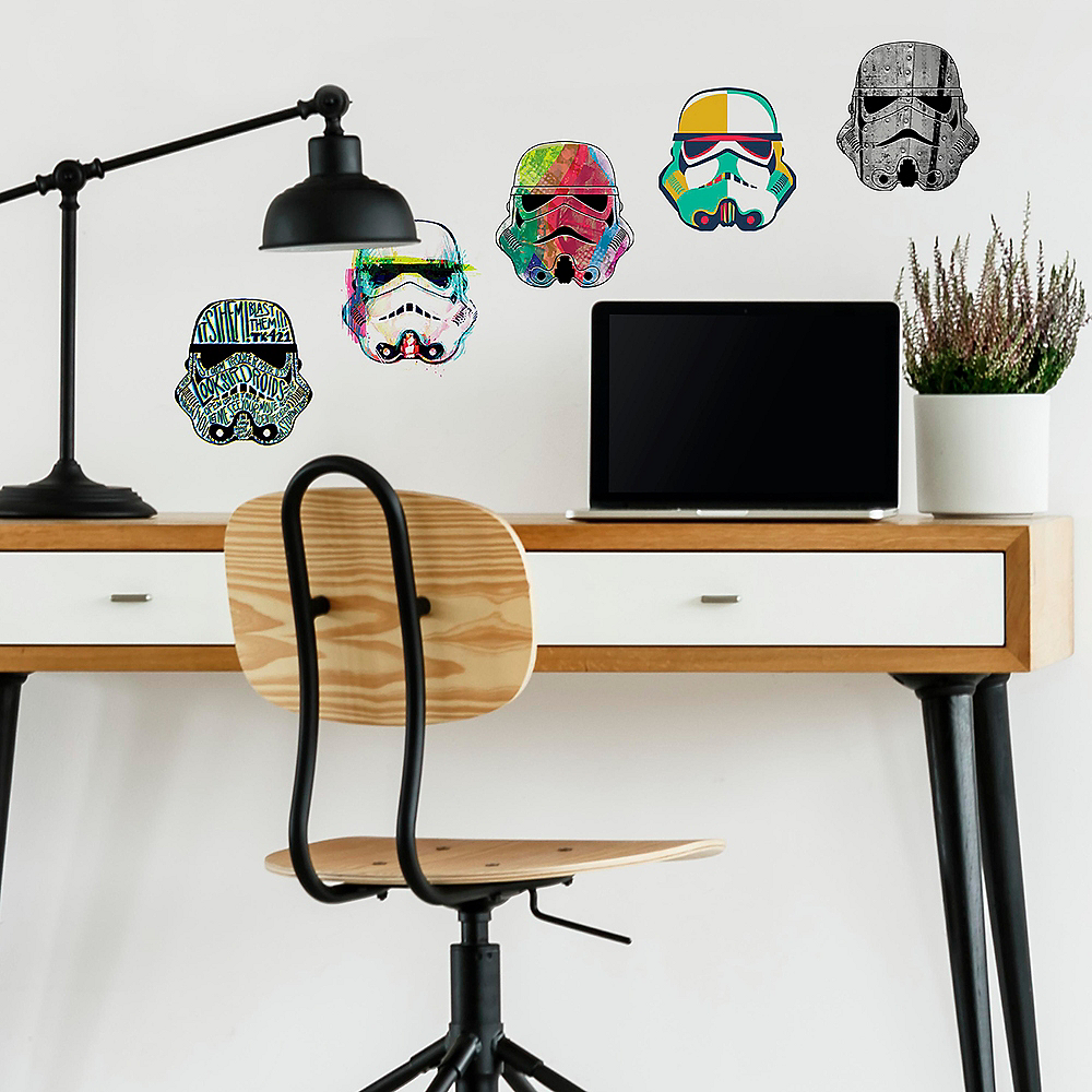 Stormtrooper Wall Decals 8ct - Star Wars Image #1