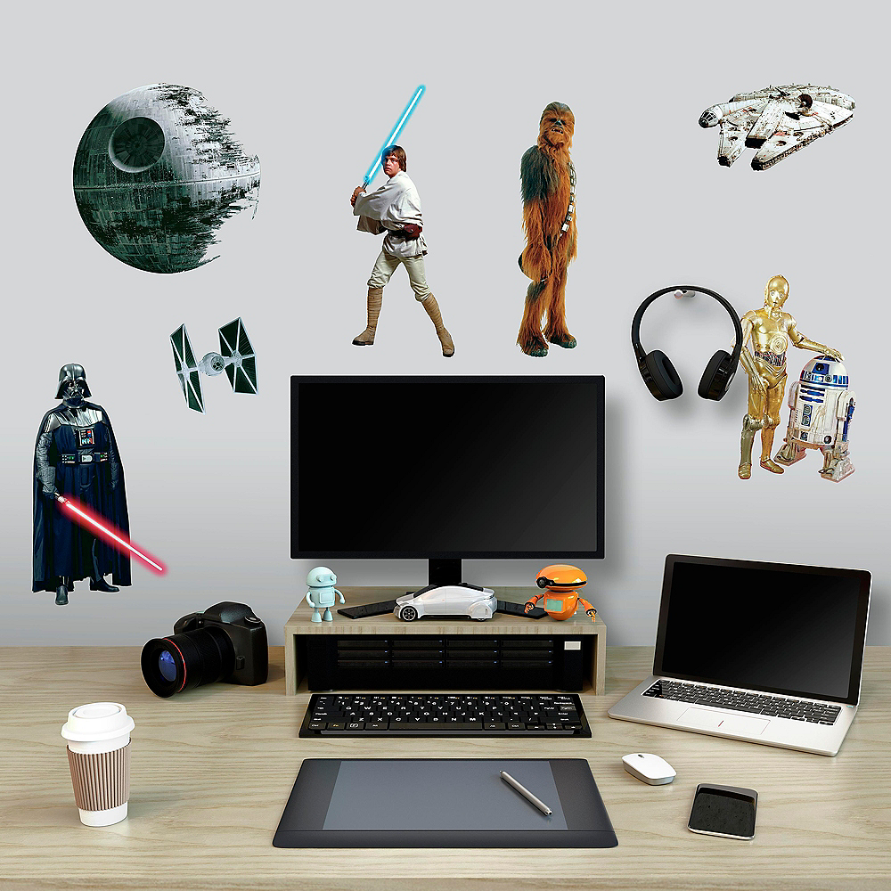 Classic Star Wars Wall Decals 31ct Image #1