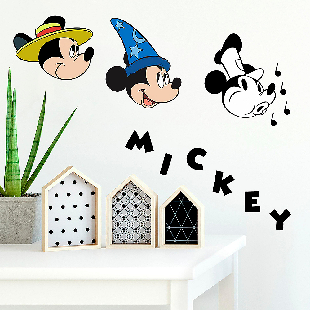 . 90th Anniversary Classic Mickey Mouse Wall Decals 20ct