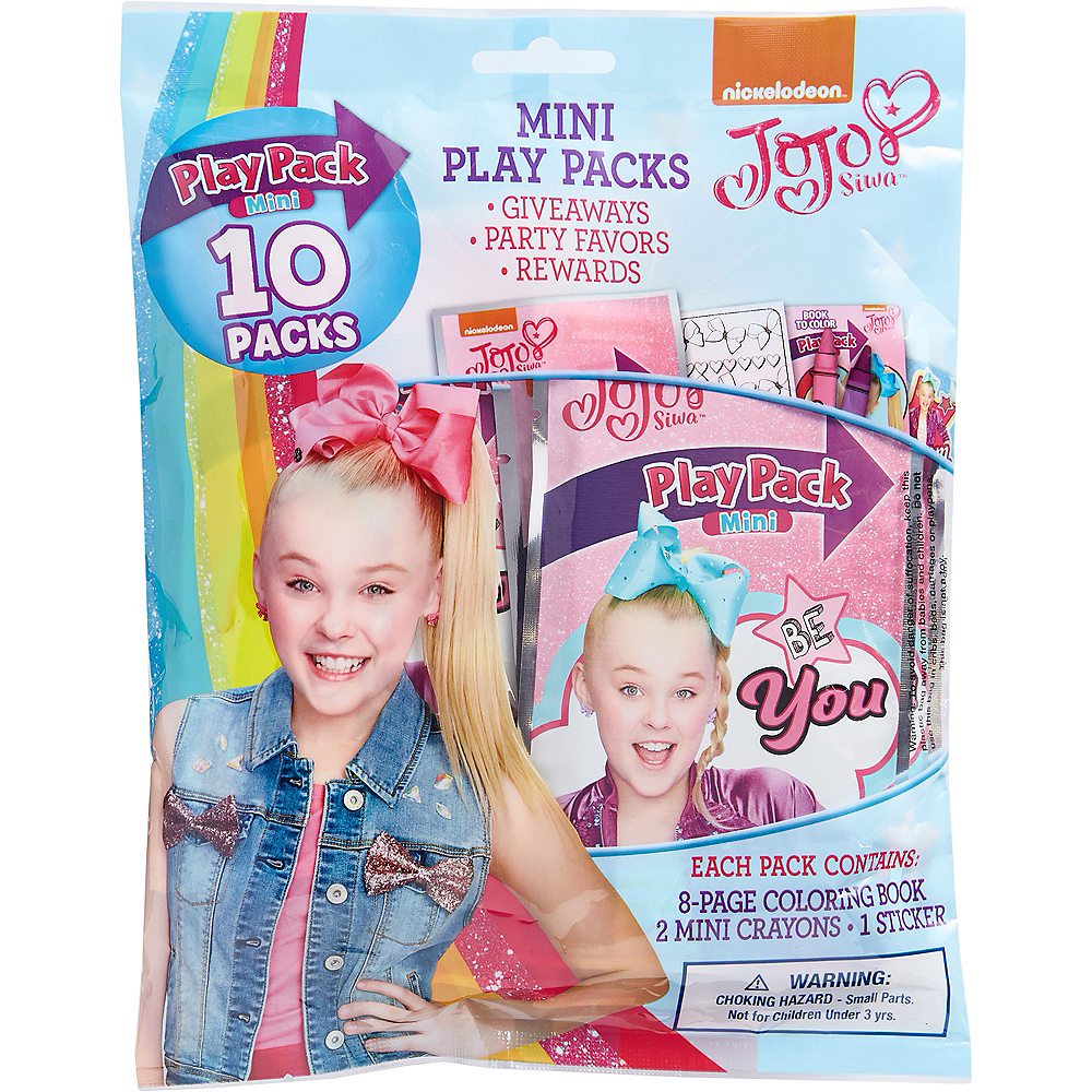 JoJo Siwa Mini Play Packs 10ct Image #1