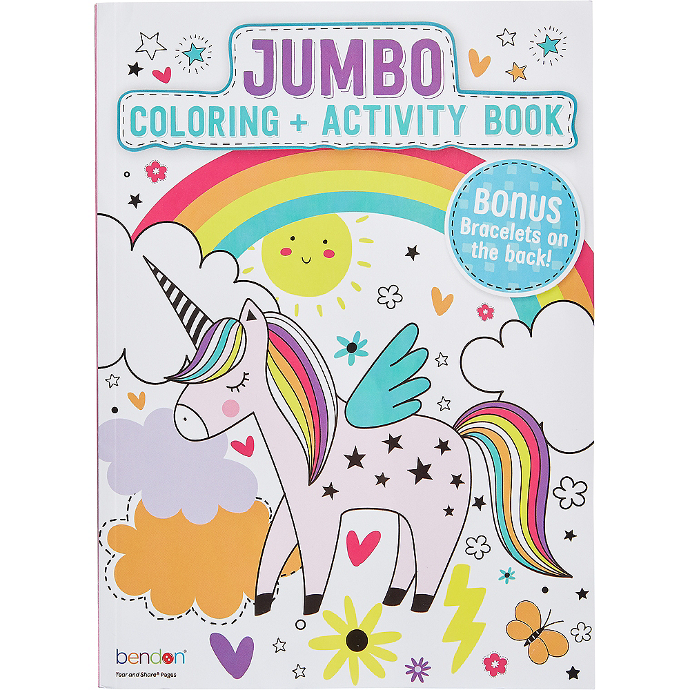 Unicorn Coloring & Activity Book Image #1