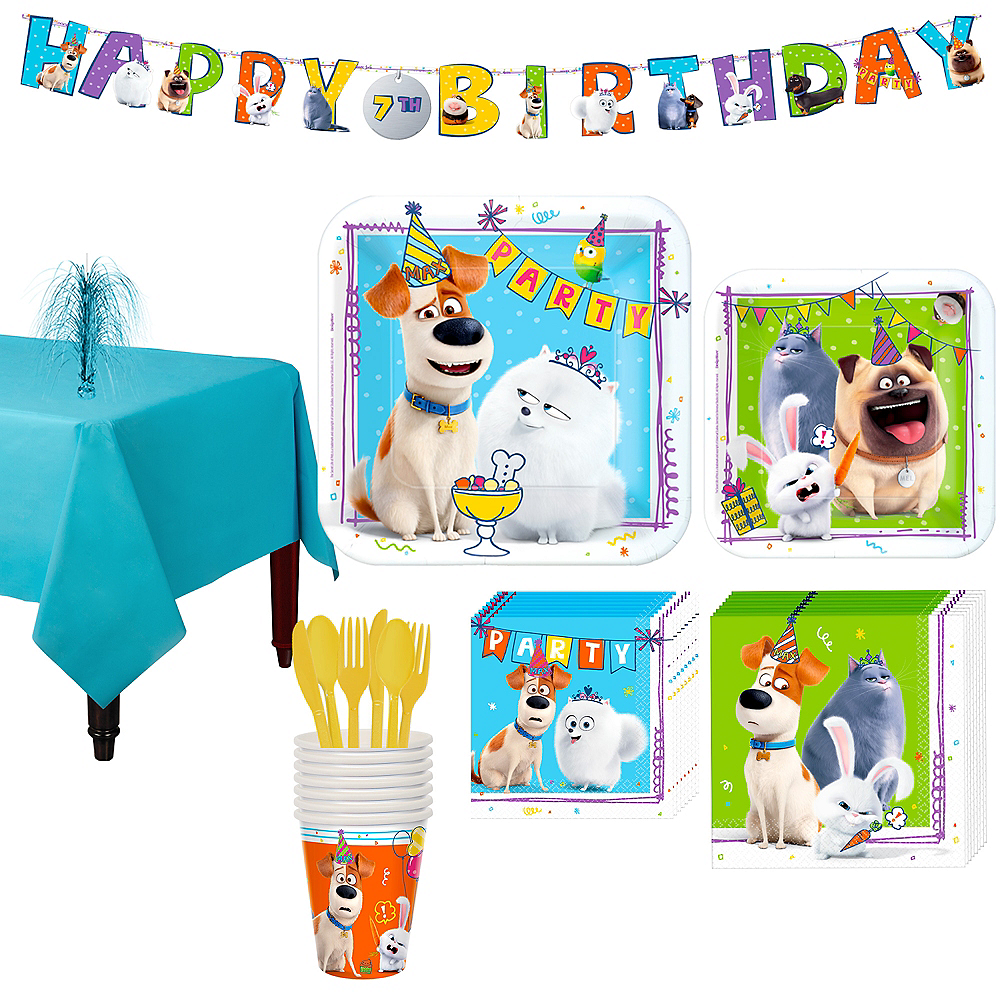 Secret Life of Pets 2 Tableware Kit for 8 Guests Image #1