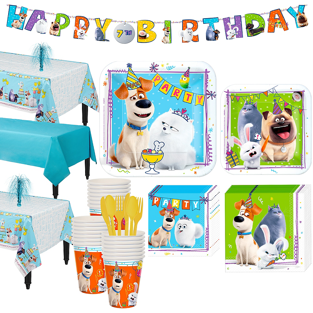 Secret Life of Pets 2 Tableware Kit for 24 Guests Image #1