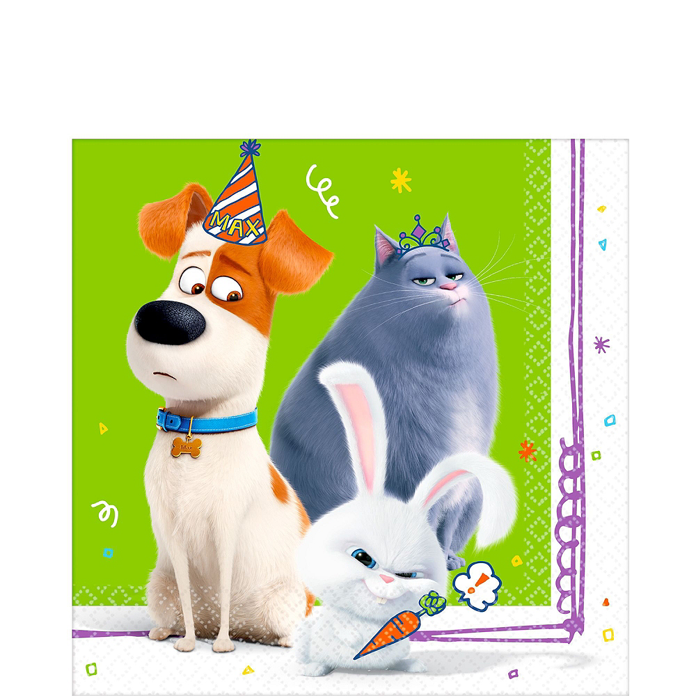Secret Life of Pets 2 Tableware Kit for 24 Guests Image #5