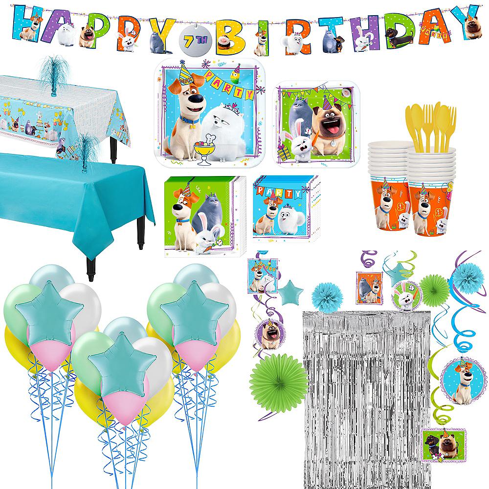 Super Secret Life of Pets 2 Party Kit for 16 Guests Image #1