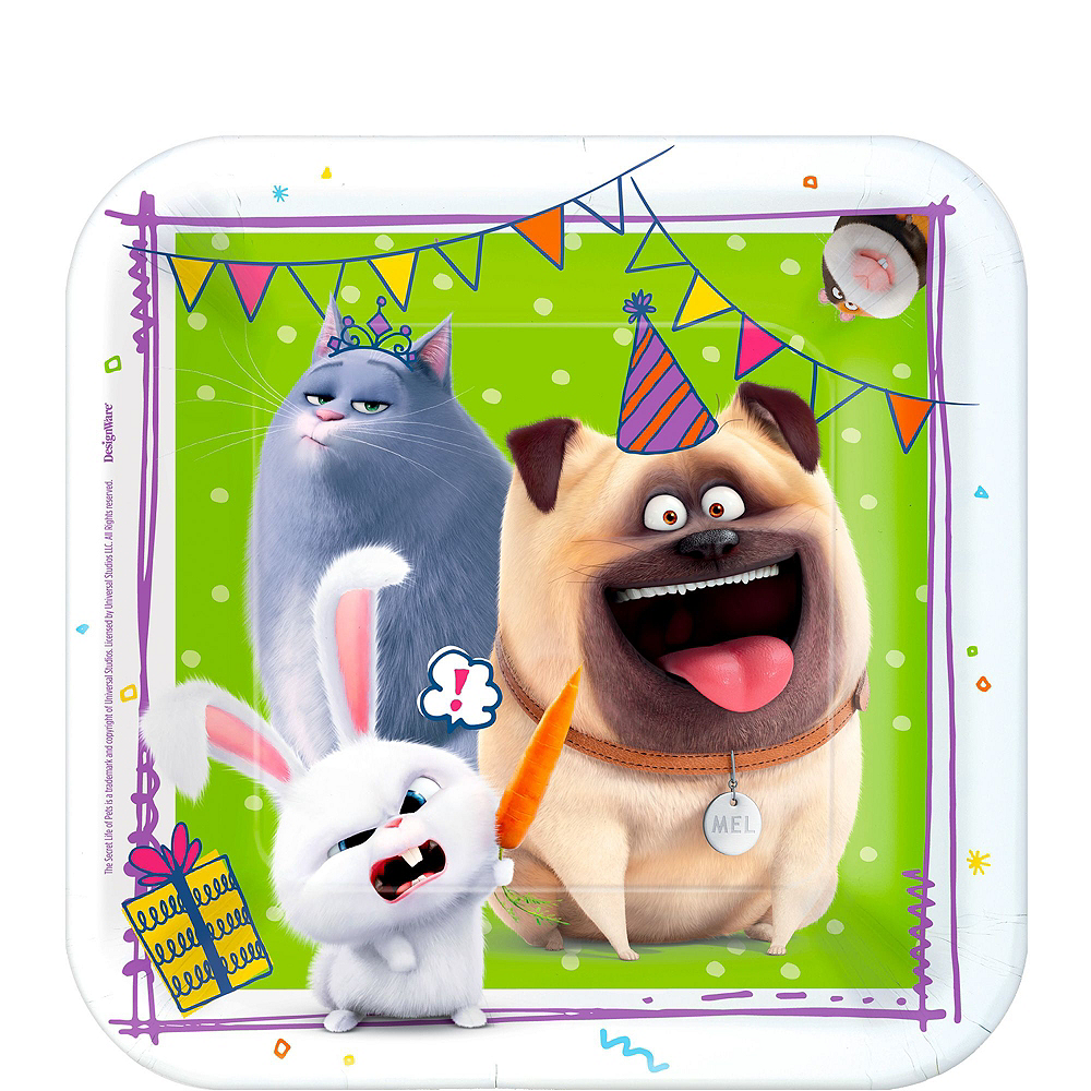 Super Secret Life of Pets 2 Party Kit for 24 Guests Image #2
