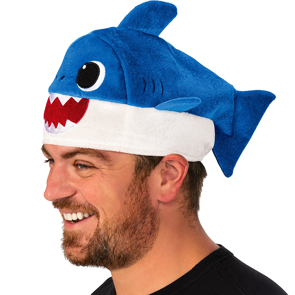 Adult Daddy Shark Hat with Sound Effect Image #2