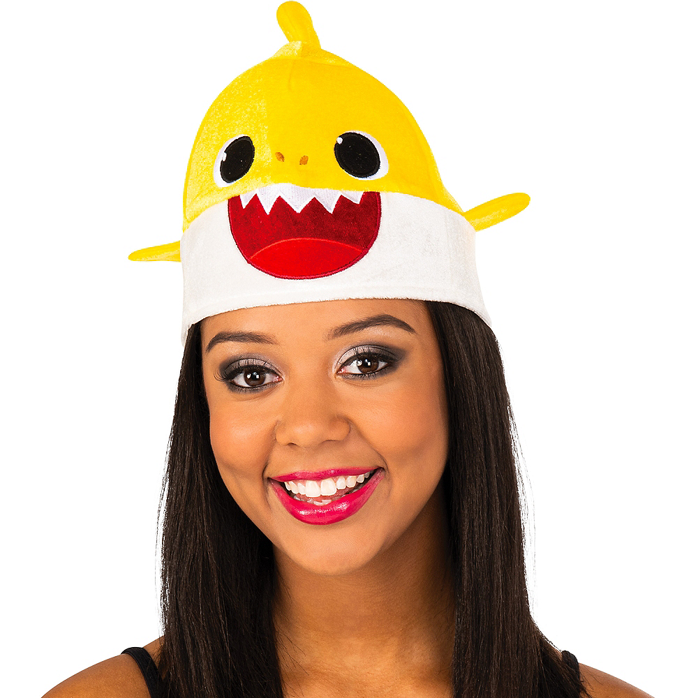 Adult Baby Shark Hat with Sound Effect Image #1