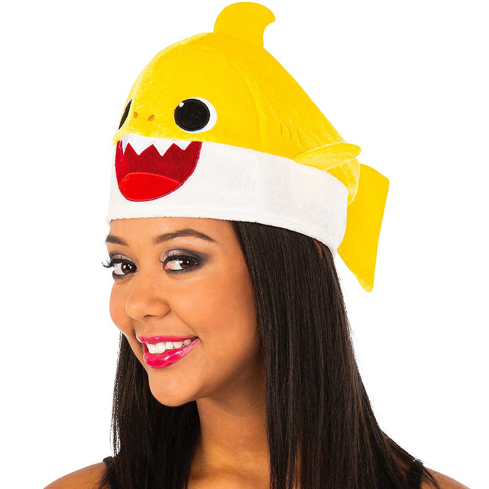 Adult Baby Shark Hat with Sound Effect Image #2