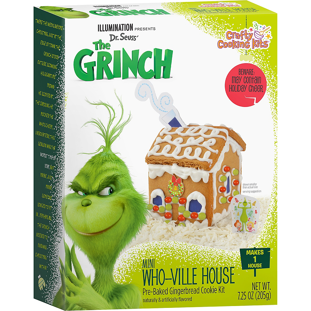 Mini Who-Ville Gingerbread House Kit - Dr. Seuss' The Grinch Image #1