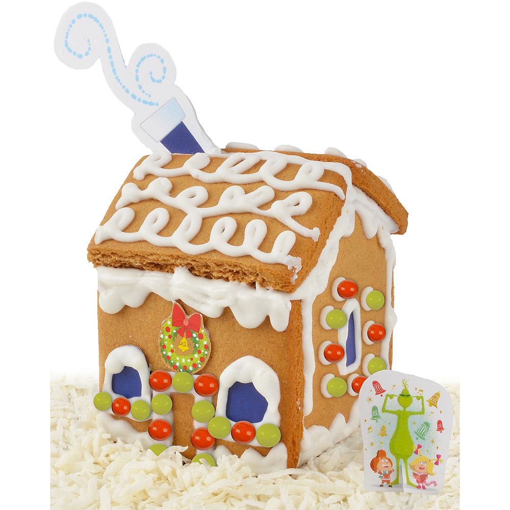 Mini Who-Ville Gingerbread House Kit - Dr. Seuss' The Grinch Image #2