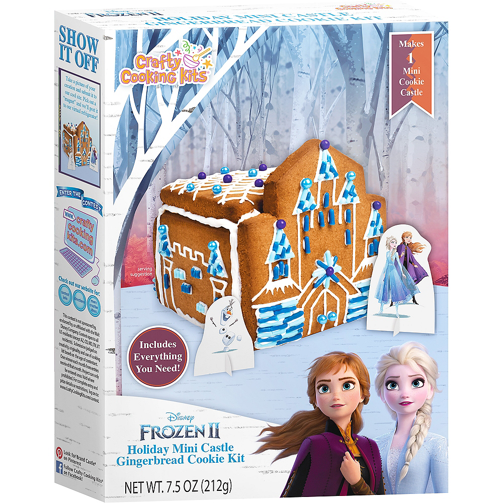 Mini Ice Castle Gingerbread House Kit - Frozen 2 Image #1
