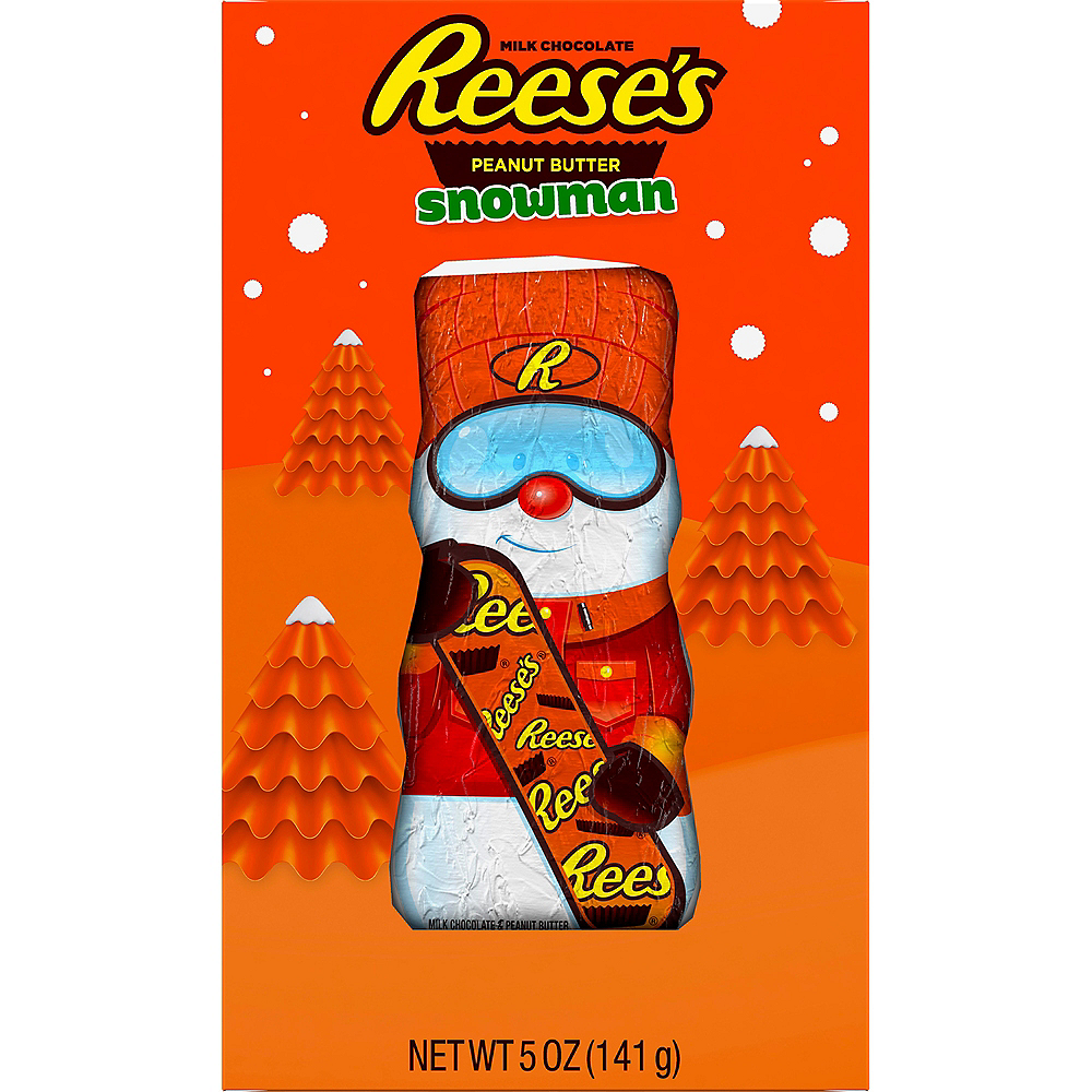 Milk Chocolate Reese's Snowman Image #1