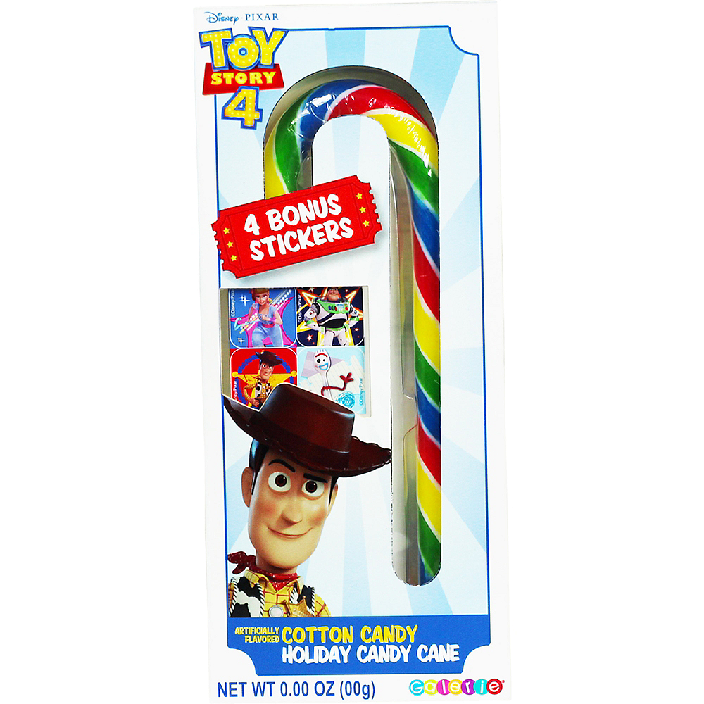 Toy Story 4 Jumbo Candy Cane with Stickers Image #1