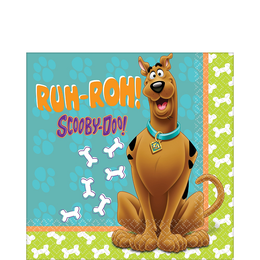Zoinks Scooby Doo Lunch Napkins 36ct Image #1