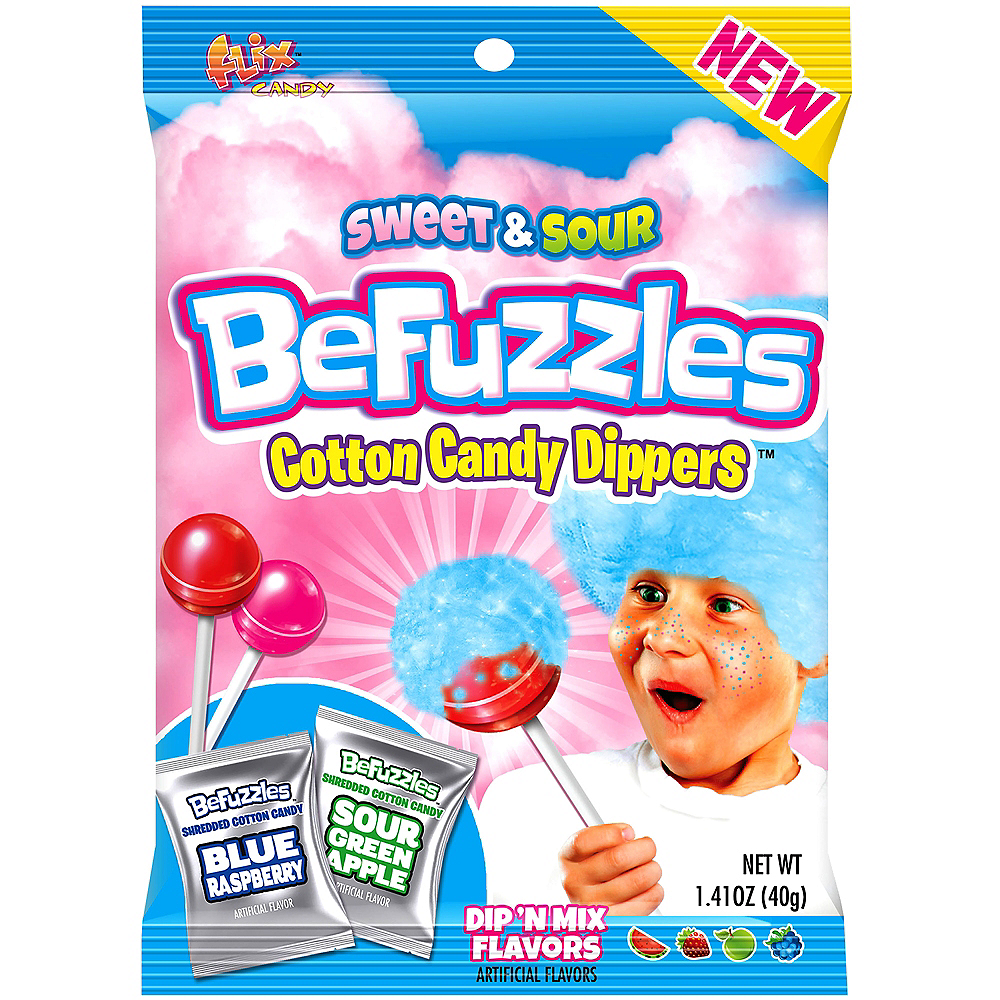 BeFuzzles Cotton Candy Dippers 12ct Image #1