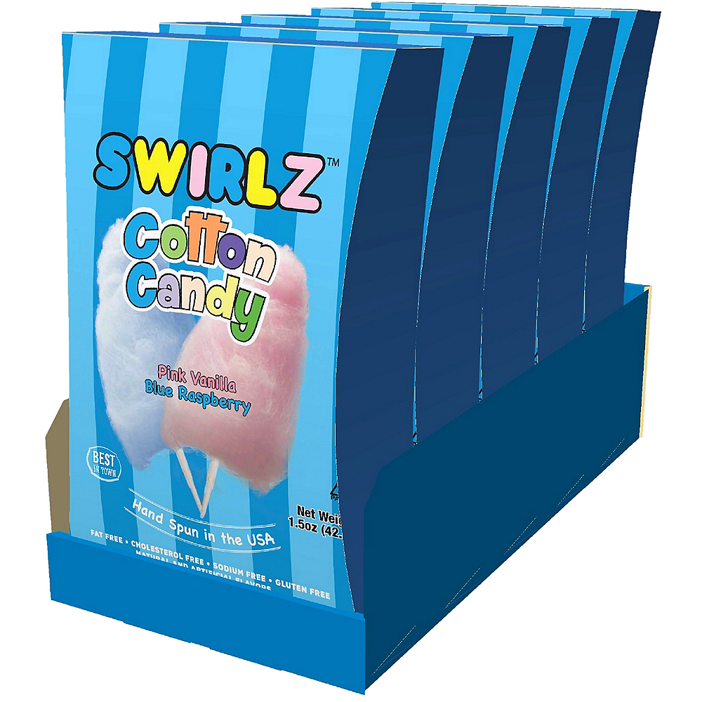 Swirlz Cotton Candy 5ct Image #1