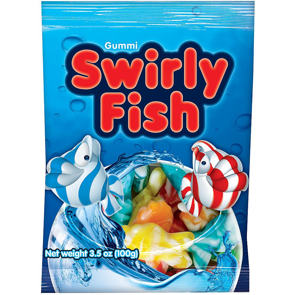 Gummi Swirly Fish Candy Pouches 14ct Image #1