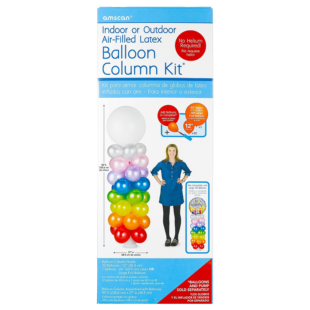 Air-Filled Disco Balloon Column Kit Image #9