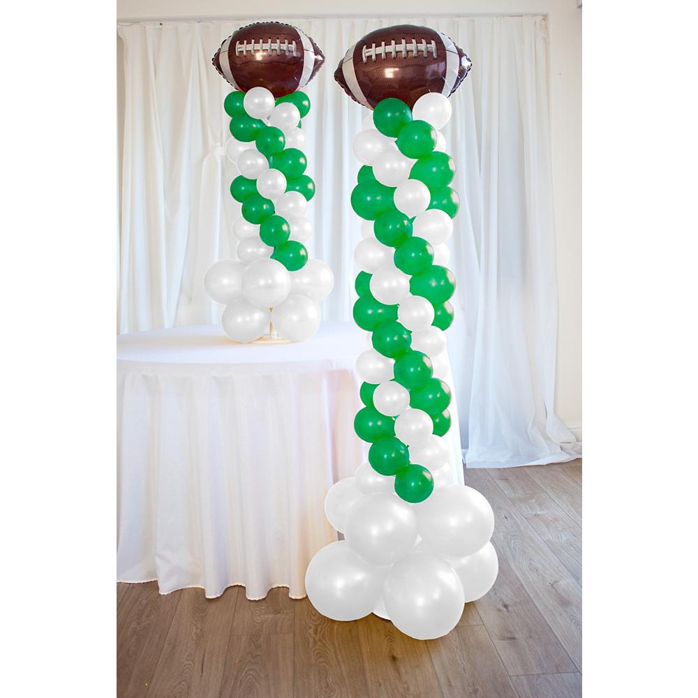 Air-Filled Football Balloon Column Kit Image #1