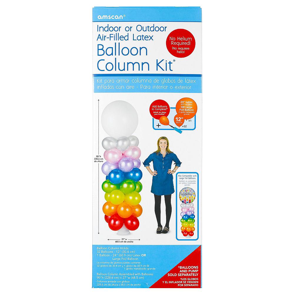 Air-Filled Football Balloon Column Kit Image #5