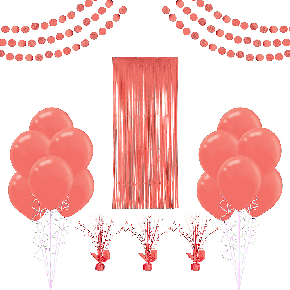 Bright Coral Decorating Kit Image #1