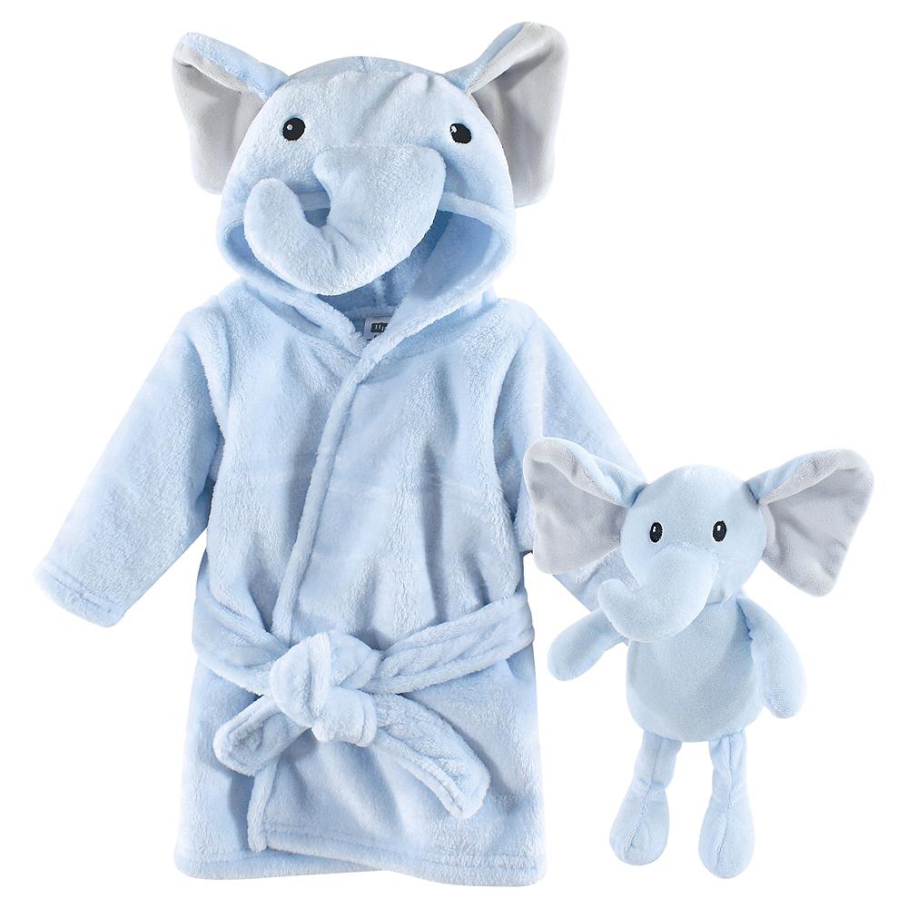 Blue Elephant Hudson Baby Snuggle Time Box Set, 2 Piece Set Image #1