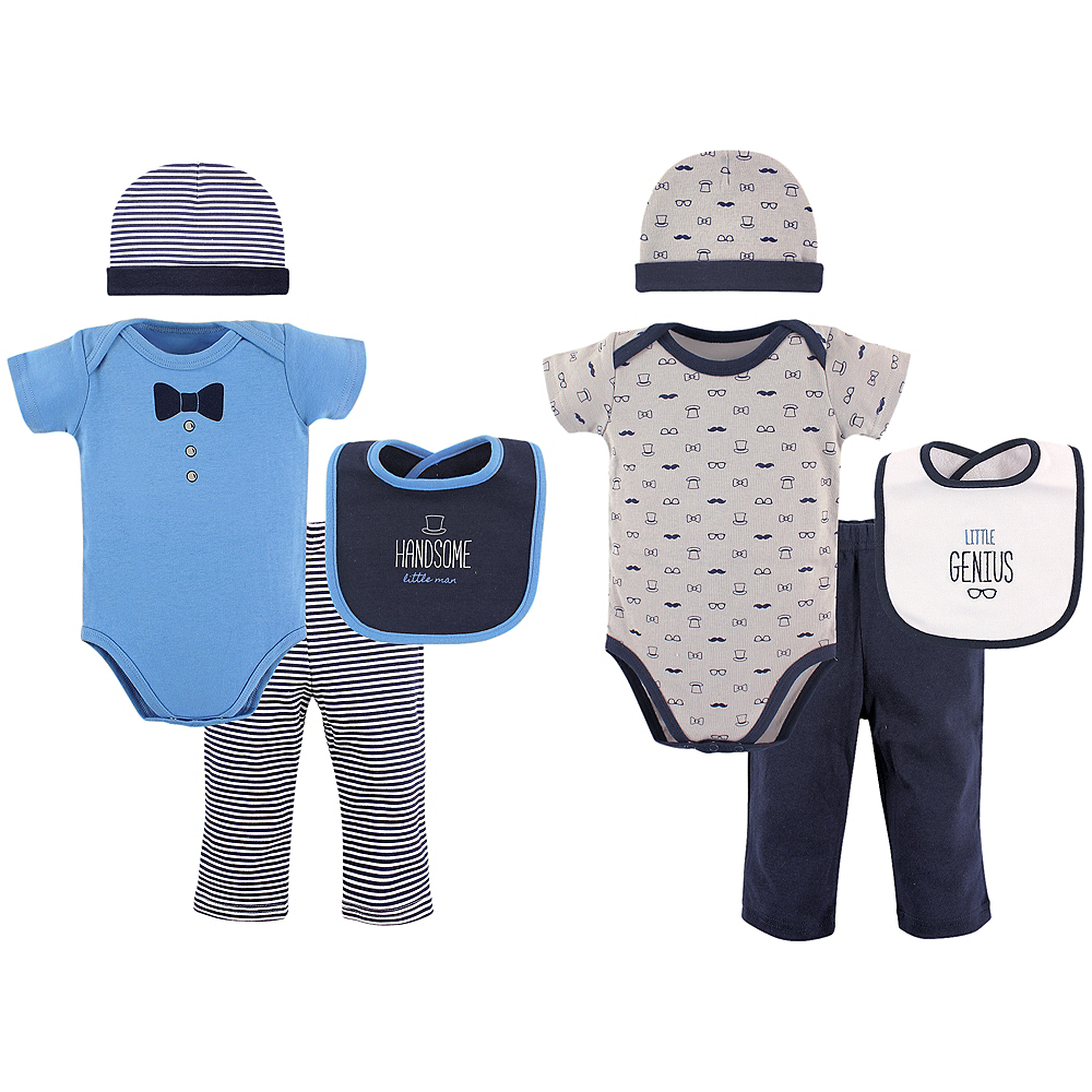 Handsome Man Hudson Baby Grow With Me Clothing Gift Set, 8-Piece, 0-6 months Image #1