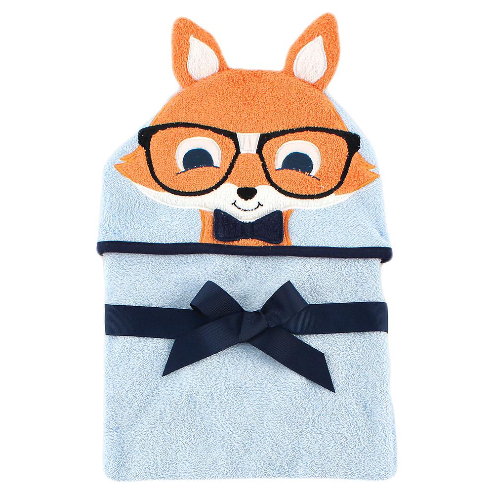 Nerdy Fox Hudson Baby Animal Face Hooded Towel Image #1