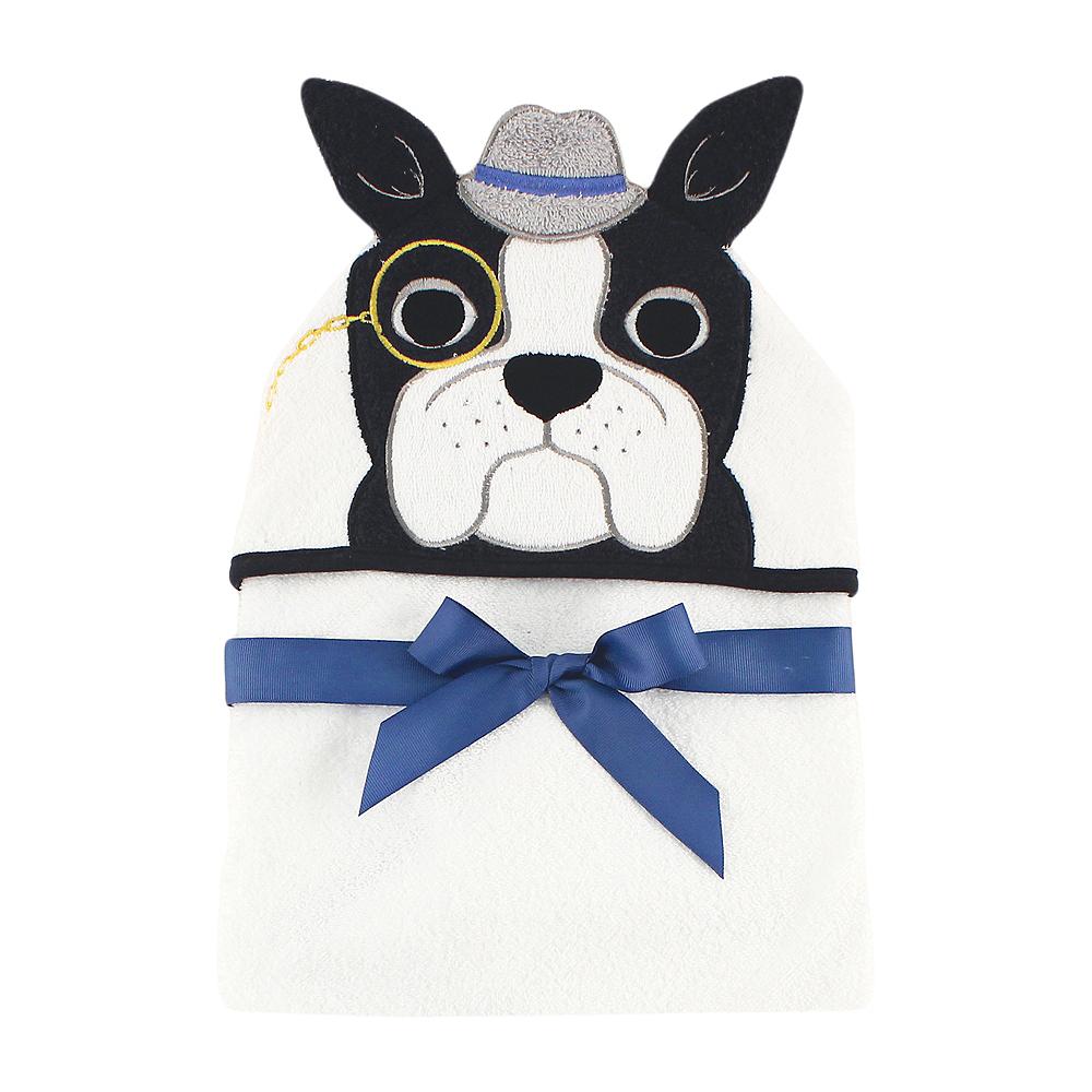 Dapper Dog Hudson Baby Animal Face Hooded Towel Image #1
