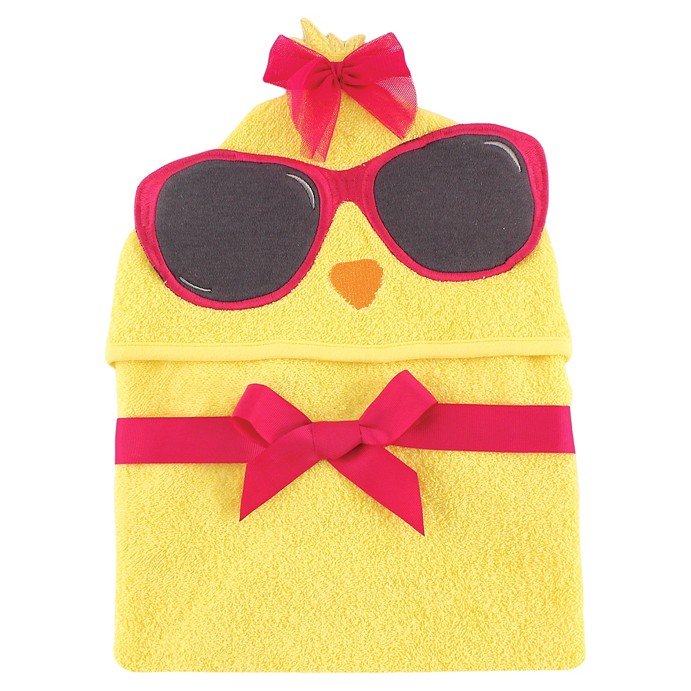 Cool Chick Hudson Baby Animal Face Hooded Towel Image #1