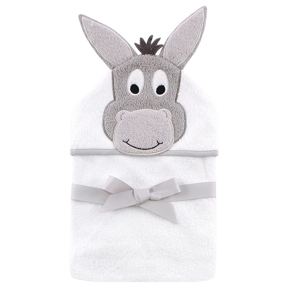 Happy Donkey Hudson Baby Animal Face Hooded Towel Image #1