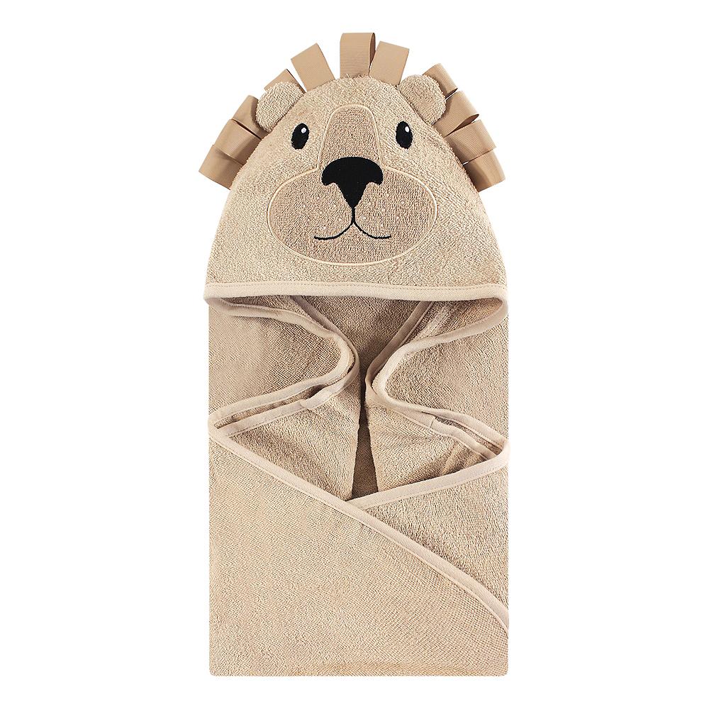 Lion Hudson Baby Animal Face Hooded Towel Image #1