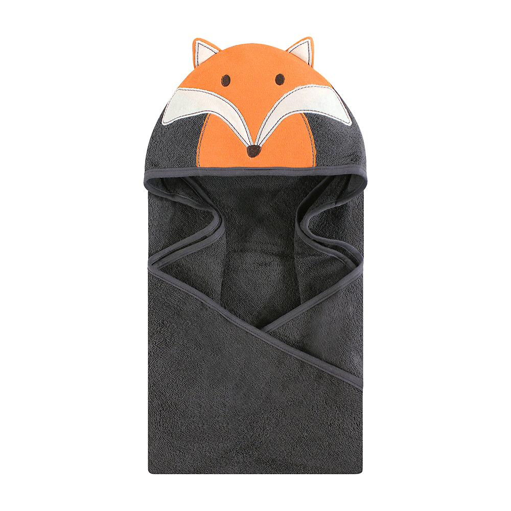 Modern Fox Hudson Baby Animal Face Hooded Towel Image #1