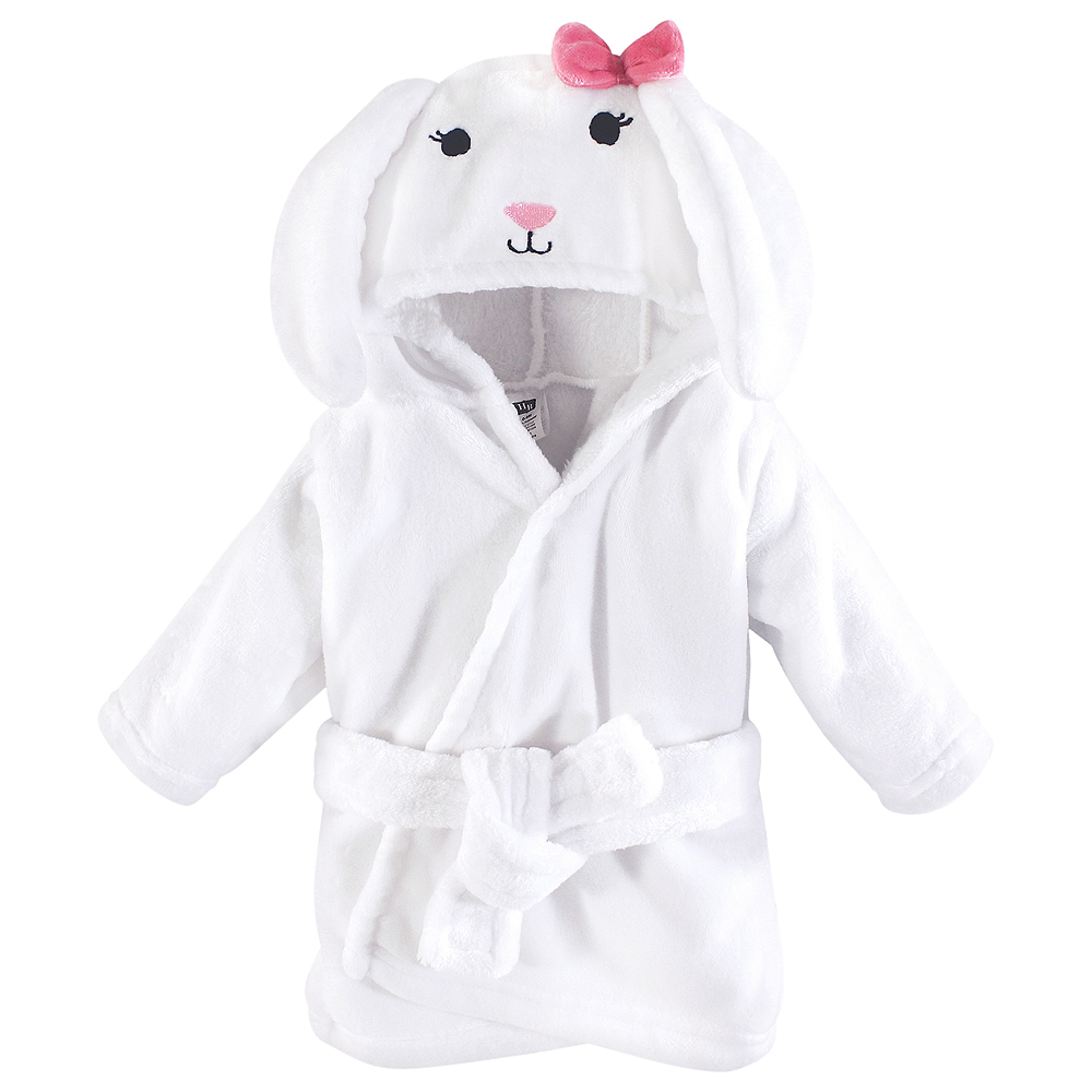 Bunny Hudson Baby Bathrobe,  0-9 months Image #1