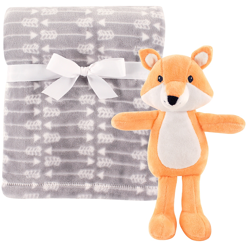 Fox Hudson Baby Plush Blanket and Toy, 2-Piece Set Image #1
