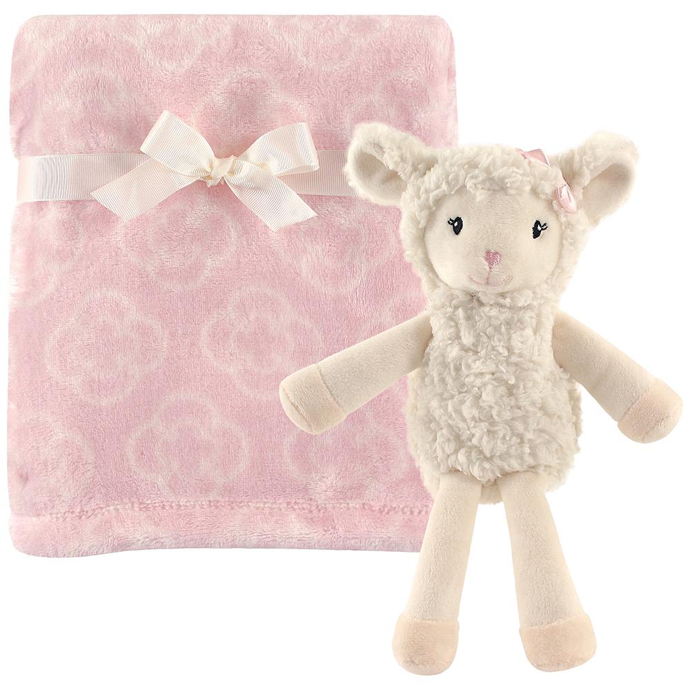 Lamb Hudson Baby Plush Blanket and Toy, 2-Piece Set Image #1