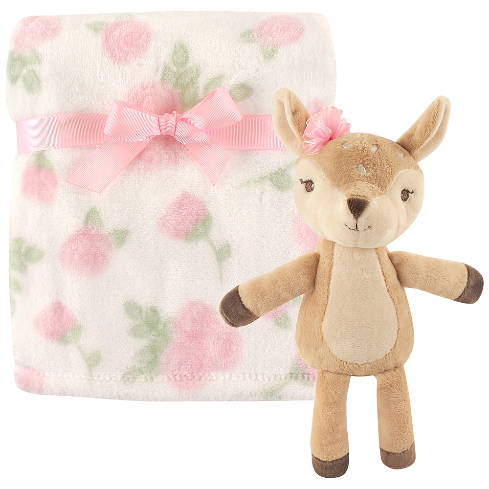 Fawn Hudson Baby Plush Blanket and Toy, 2-Piece Set Image #1
